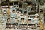 Effigies of the dead in cliffs, Toraja cemetery, Lemo, Tana Toraja, Toraja, Sulawesi, Celebes, Indonesia, Southeast Asia, Asia Stock Photo - Premium Rights-Managed, Artist: Robert Harding Images, Code: 841-05796568