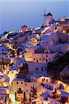 Oia (Ia) village and windmill, Santorini, Cyclades, Greek Islands, Greece, Europe Stock Photo - Premium Rights-Managed, Artist: Robert Harding Images, Code: 841-05796742