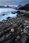 A view towards the Cuillin Hills from across Loch Scavaig, Elgol, Isle of Skye, Scotland, United Kingdom, Europe Stock Photo - Premium Rights-Managed, Artist: Robert Harding Images, Code: 841-05796848