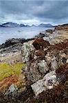 A view toward the Cuillin Mountains and the Clach Gas group from Tarskavaig, Sleat Peninsula, Isle of Skye, Scotland, United Kingdom, Europe Stock Photo - Premium Rights-Managed, Artist: Robert Harding Images, Code: 841-05796983