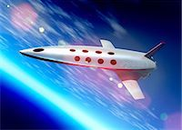 spaceship - Space tourism, artwork Stock Photo - Premium Royalty-Freenull, Code: 679-05797398