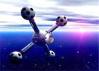 spaceship - Space hotel, artwork Stock Photo - Premium Royalty-Freenull, Code: 679-05797402
