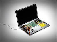Laptop interior Stock Photo - Premium Royalty-Freenull, Code: 679-05797483