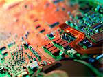 Laptop circuit board Stock Photo - Premium Royalty-Free, Artist: Science Faction, Code: 679-05797491