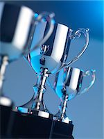 Trophies Stock Photo - Premium Royalty-Freenull, Code: 679-05797615
