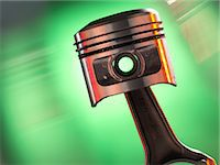shaft - Car engine piston Stock Photo - Premium Royalty-Freenull, Code: 679-05797621