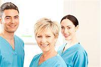 Hospital staff Stock Photo - Premium Royalty-Freenull, Code: 679-05797826