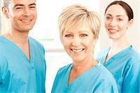 Hospital staff Stock Photo - Premium Royalty-Freenull, Code: 679-05797828