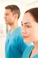 Hospital staff Stock Photo - Premium Royalty-Freenull, Code: 679-05797831