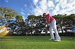 Young Man Golfing Stock Photo - Premium Rights-Managed, Artist: Aflo Sport, Code: 858-05799192