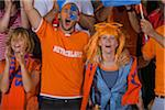 Dutch fans at soccer game in Cape Town, South Africa Stock Photo - Premium Royalty-Free, Artist: Cusp and Flirt, Code: 618-05800197
