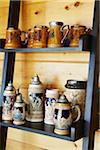 Collection of Beer Steins Stock Photo - Premium Rights-Managed, Artist: Shannon Ross, Code: 700-05800581