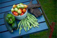 Fresh Picked Garden Vegetables, Toronto, Ontario, Canada Stock Photo - Premium Royalty-Freenull, Code: 600-05800602