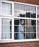 Nurse and older man at window Stock Photo - Premium Royalty-Free, Artist: Cultura RM, Code: 649-05801972