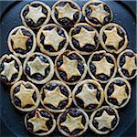Mincemeat Tarts Stock Photo - Premium Royalty-Free, Artist: Andrew Kolb, Code: 600-05803166
