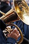 Close-Up of Tuba Player Stock Photo - Premium Rights-Managed, Artist: Damir Frkovic, Code: 700-05803148