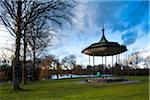England, London, Regents Park. The Bandstand in the grounds of The Regent's Park, a Royal Park in London. Stock Photo - Premium Rights-Managed, Artist: Jason Friend, Code: 700-05803176