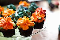Close-Up of Cupcakes Stock Photo - Premium Rights-Managednull, Code: 700-05803286