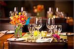 Place Setting at Wedding Reception Stock Photo - Premium Rights-Managed, Artist: Ikonica, Code: 700-05803288
