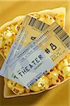 Movie Tickets and Popcorn Stock Photo - Premium Royalty-Free, Artist: Amy Whitt, Code: 600-05803386