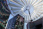 Sony Center Atrium, Potsdamer Platz, Berlin, Germany Stock Photo - Premium Rights-Managed, Artist: Siephoto, Code: 700-05803459