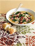 Bean and Kale Soup Stock Photo - Premium Royalty-Free, Artist: Edward Pond, Code: 600-05803503
