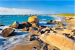 Rocky Coastline and Beach, Brignogan-Plage, Finistere, Brittany, France Stock Photo - Premium Royalty-Free, Artist: Tim Hurst, Code: 600-05803661