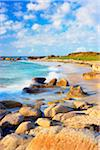 Rocky Coastline and Beach, Brignogan-Plage, Finistere, Brittany, France Stock Photo - Premium Royalty-Free, Artist: Tim Hurst, Code: 600-05803662