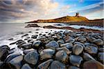 View of Dunstanburgh Castle, Embleton Bay, Northumberland, England Stock Photo - Premium Rights-Managed, Artist: Tim Hurst, Code: 700-05803725