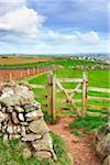Wooden Gate, Rumps Point, Cornwall, England Stock Photo - Premium Rights-Managed, Artist: Tim Hurst, Code: 700-05803728