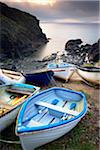 Small Boats on Beach, Church Cove, Lizard Peninsula, Cornwall, England Stock Photo - Premium Rights-Managed, Artist: Tim Hurst, Code: 700-05803735