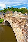 Arch Bridge over the Rance River, Dinan, Cotes-d'Armor, Bretagne, France Stock Photo - Premium Rights-Managed, Artist: Tim Hurst, Code: 700-05803743