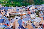 Rooftops, Dinan, Cotes-d'Armor, Bretagne, France Stock Photo - Premium Rights-Managed, Artist: Tim Hurst, Code: 700-05803749