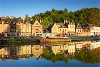 Dinan and Rance River, Cotes-d'Armor, Bretagne, France Stock Photo - Premium Rights-Managednull, Code: 700-05803753