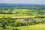 View of Ruin of Sweetheart Abbey and Farmland, Dumfries and Galloway, Scotland Stock Photo - Premium Rights-Managed, Artist: Tim Hurst, Code: 700-05803765