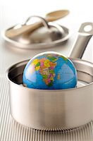 The world is drowning Stock Photo - Premium Royalty-Freenull, Code: 652-05806766