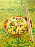 Cantonese rice Stock Photo - Premium Royalty-Freenull, Code: 652-05806914