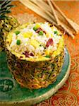 Cantonese rice with pineapple Stock Photo - Premium Royalty-Freenull, Code: 652-05806915