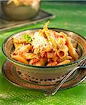 Penne all'arrabbiata Stock Photo - Premium Royalty-Free, Artist: Photocuisine, Code: 652-05806922