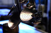 Ladles and skimmers Stock Photo - Premium Royalty-Freenull, Code: 652-05807691