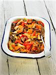 White beans with shitakes,carrots,tomatoes and onions Stock Photo - Premium Royalty-Freenull, Code: 652-05807777