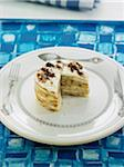 Pancake and white chocolate mille-feuille Stock Photo - Premium Royalty-Freenull, Code: 652-05809168