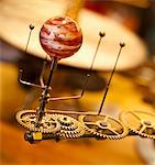 The planet Jupiter and its moons on an Orrery Stock Photo - Premium Royalty-Free, Artist: Minden Pictures, Code: 6106-05810305