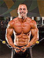 Body Builder Stock Photo - Premium Royalty-Freenull, Code: 6106-05810641