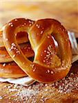 Homemade bretzel Stock Photo - Premium Rights-Managed, Artist: Photocuisine, Code: 825-05811079