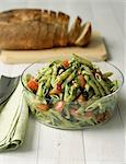 Penne with pesto,pinenuts and fresh tomatoes Stock Photo - Premium Rights-Managed, Artist: Photocuisine, Code: 825-05811216