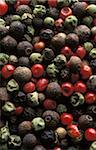 Five different peppercorns Stock Photo - Premium Rights-Managed, Artist: Photocuisine, Code: 825-05811429