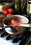 Saucepan with tomato coulis Stock Photo - Premium Rights-Managed, Artist: Photocuisine, Code: 825-05811695