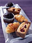 Selection of milkbread pastries Stock Photo - Premium Rights-Managed, Artist: Photocuisine, Code: 825-05811901