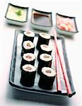 Tuna Makis Stock Photo - Premium Rights-Managed, Artist: Photocuisine, Code: 825-05812012
